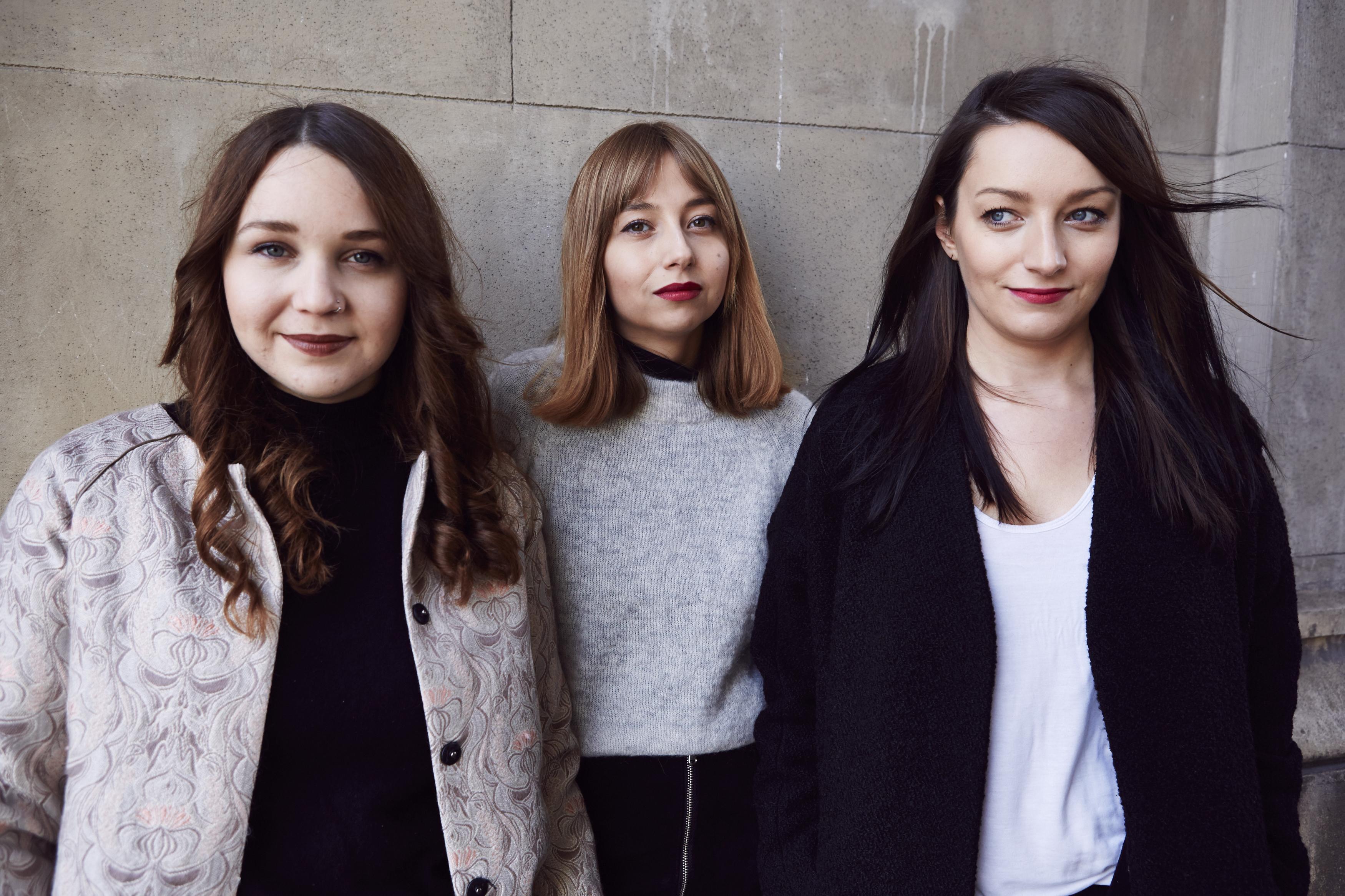 Milena Heisserer, Amelie Kahl und Antonia Wille