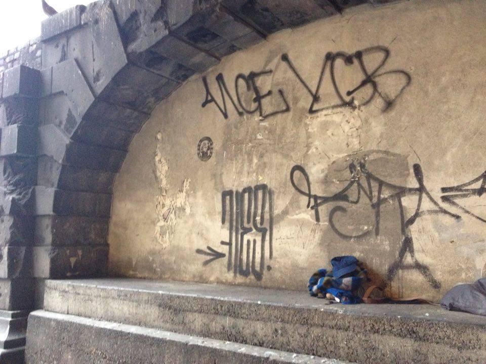 Obdachlos in München: Eine Nische als Bett