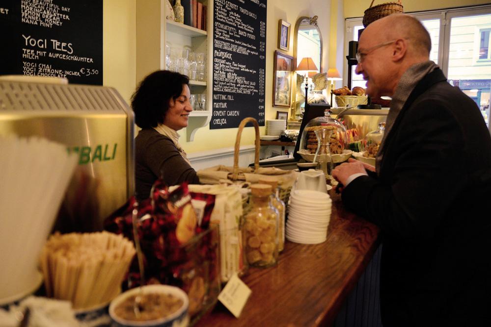 Café in München: Brown's Tea Bar