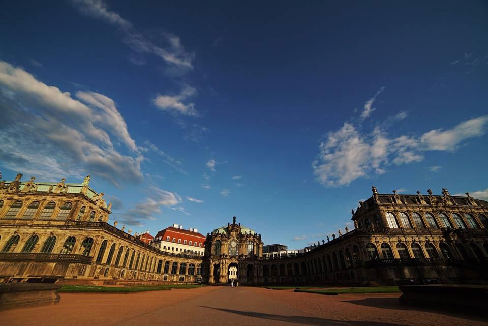 Kaiserwetter in Dresden!