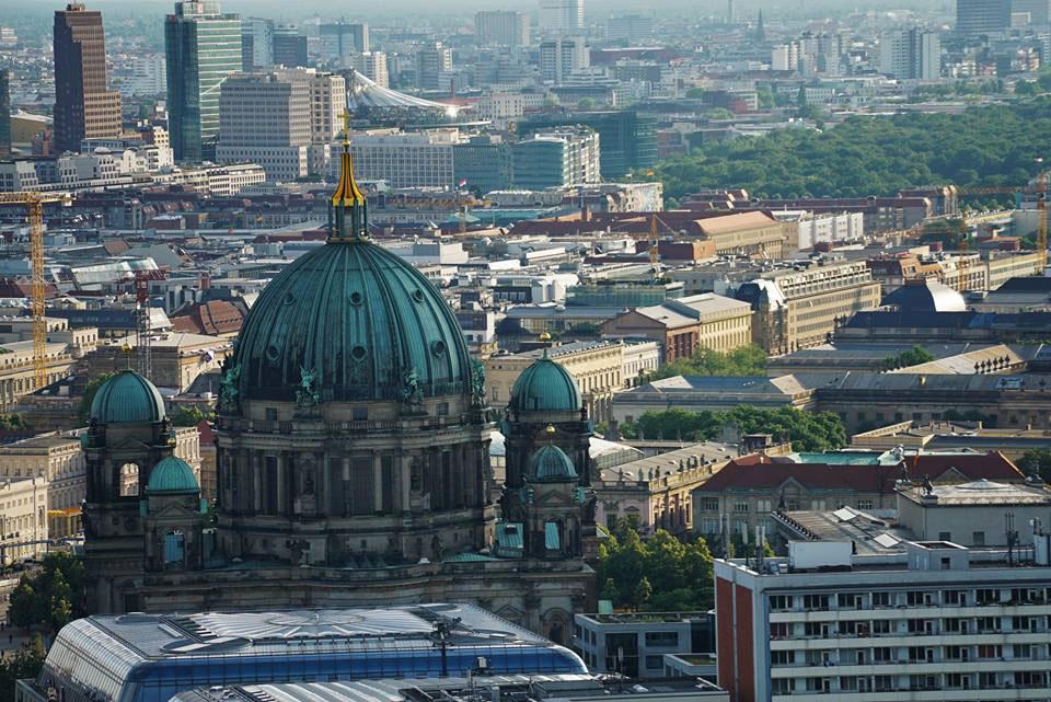 Angekommen in der Hauptstadt - Berlin.