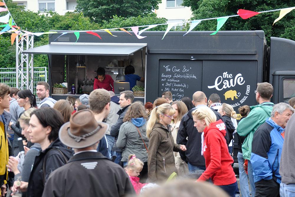 Food Trucks: Epische Schlangen beim Food Truck Festival