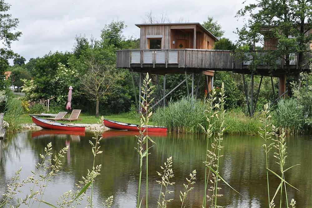 Für Kinder und Erwachsene: Kanu fahren macht jedem Spaß.