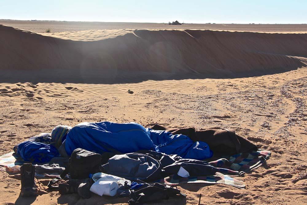 Übernachten in der Wüste von Marokko © Felix Consolati