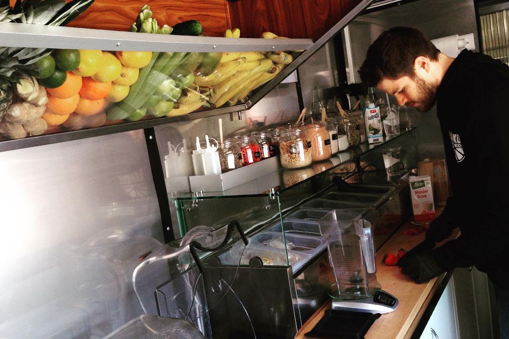 Food Trucks: Jetzt heißt es schnippeln und mixen