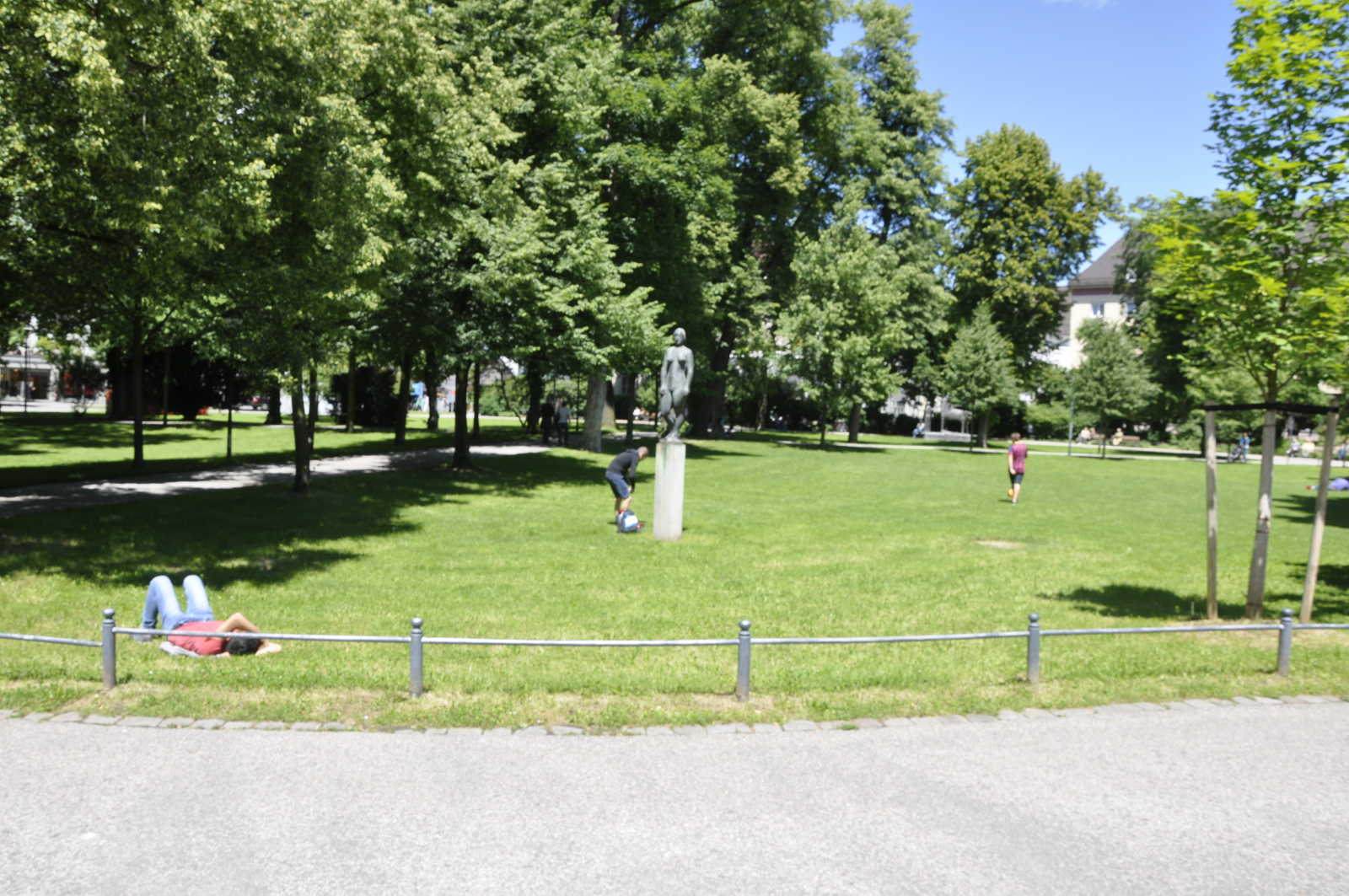 Impressionen aus dem Salingarten in Rosenheim.