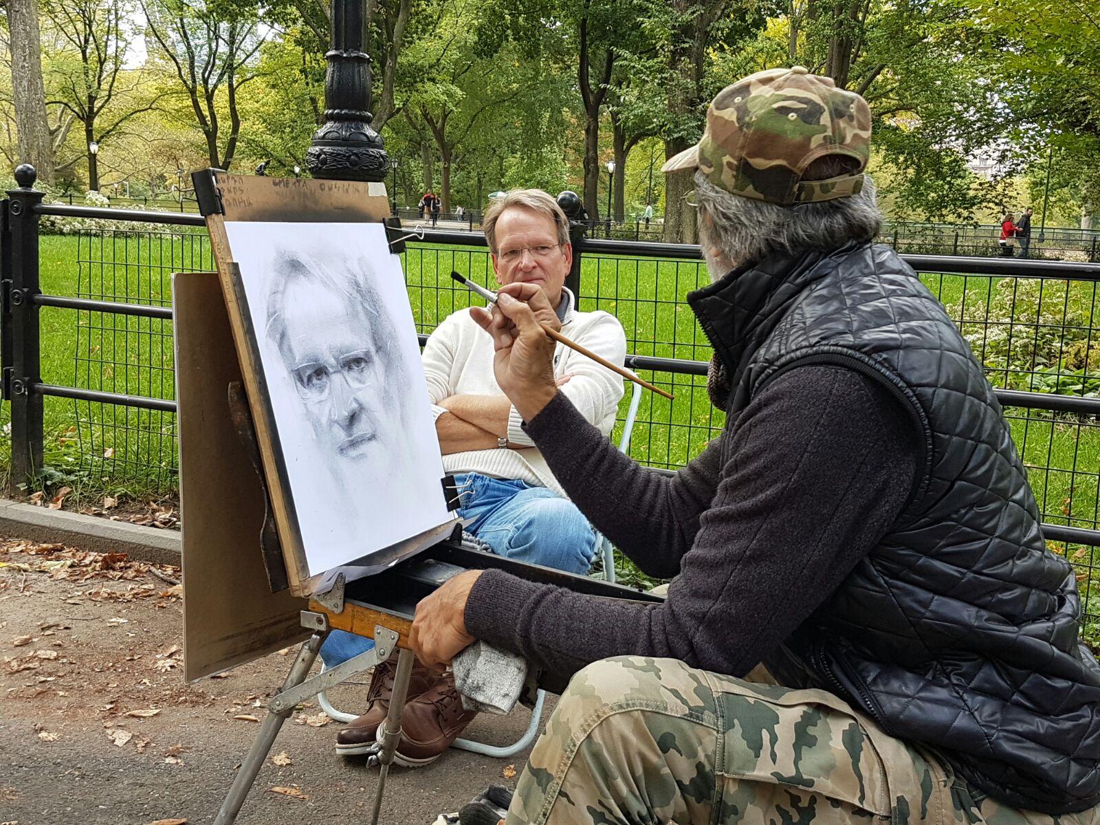 Poliwoda im Central Park