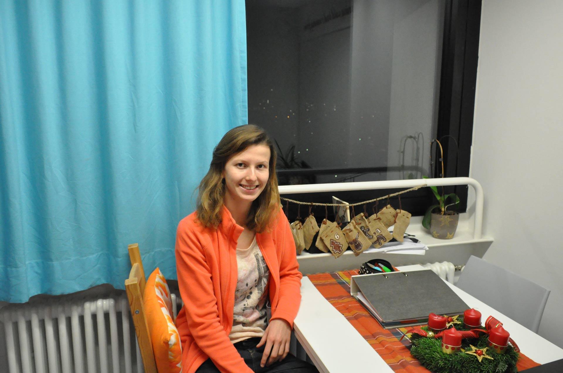 Das Hochhauszimmer von Miriam