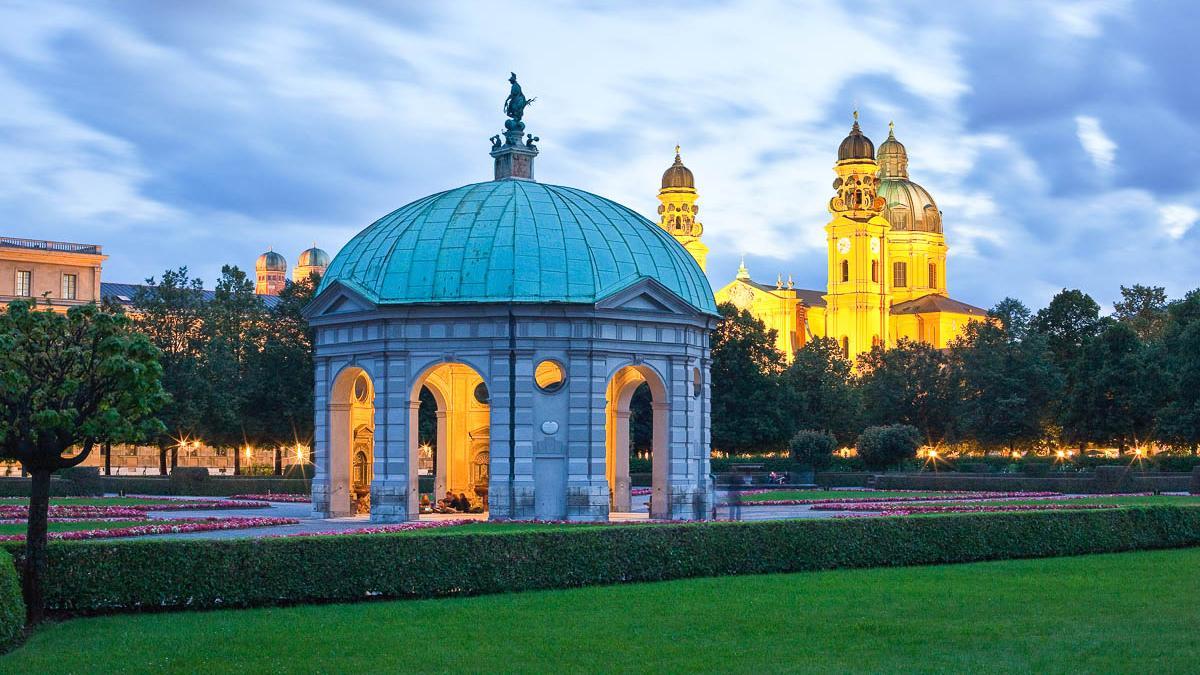 Die schönsten Münchner Parks: Der Hofgarten
