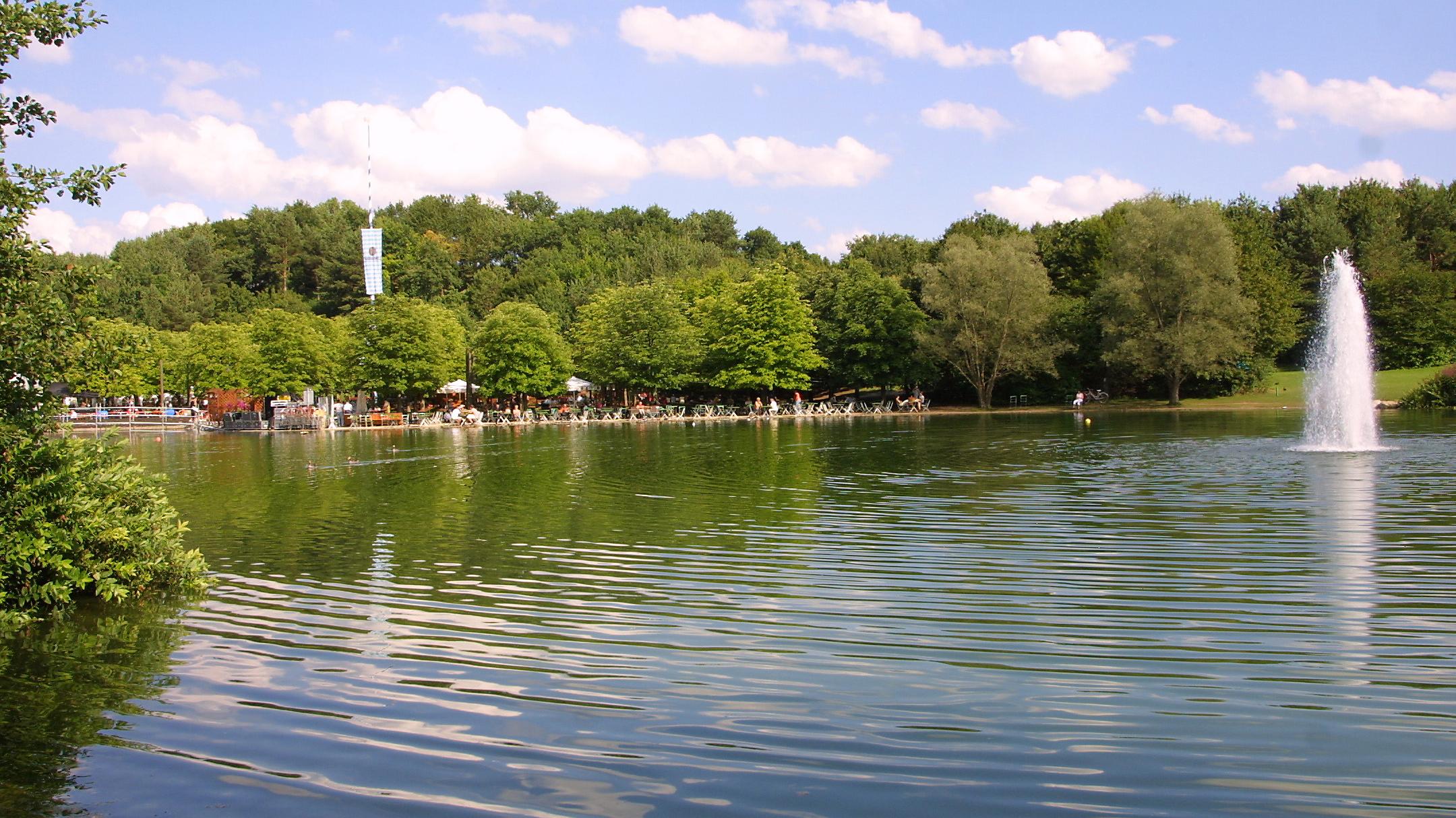Die schönsten Münchner Parks: Der Ostpark
