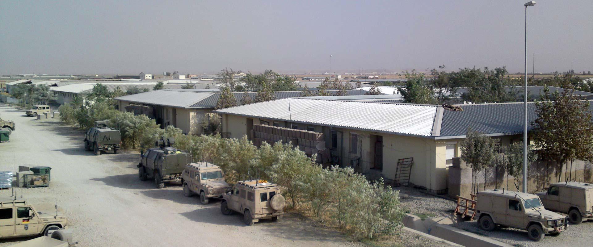 Bundeswehr-Camp in Afghanistan