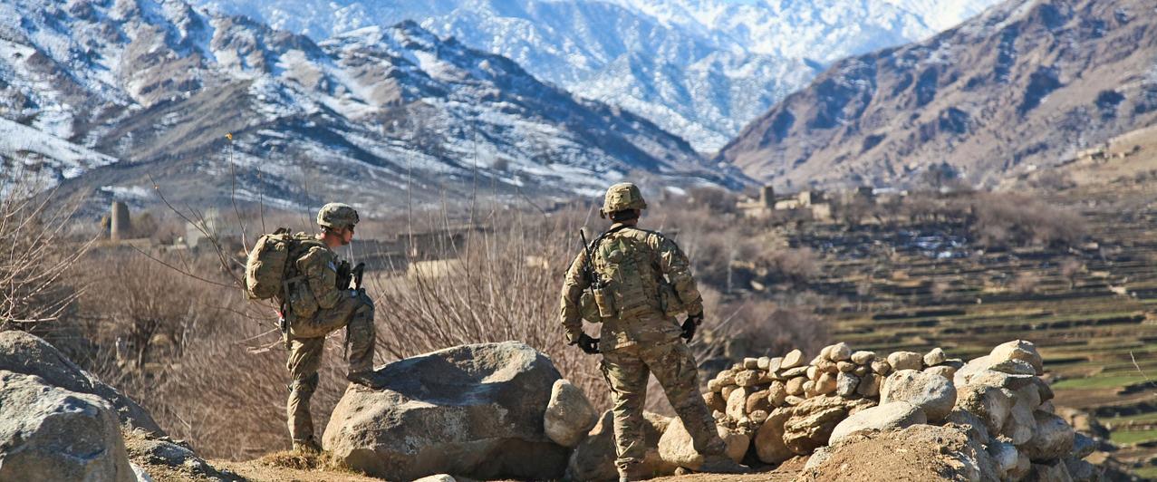 Soldaten in Afghanistan