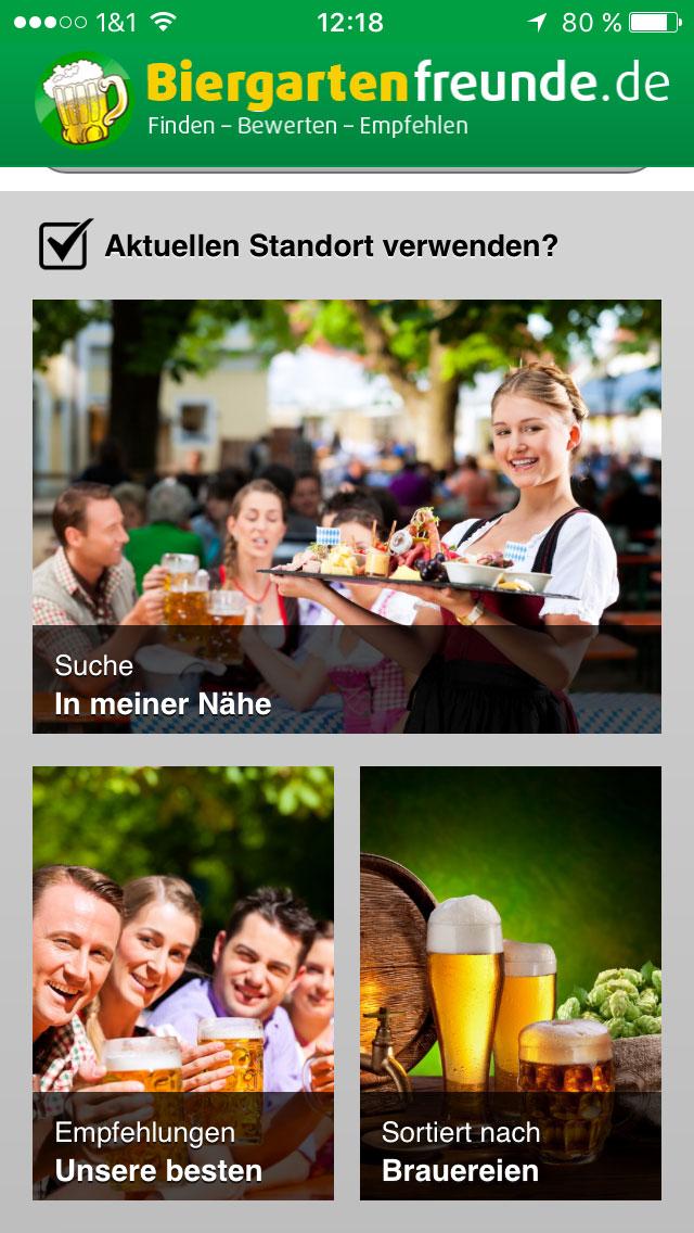 Startseite Biergartenfreunde.de