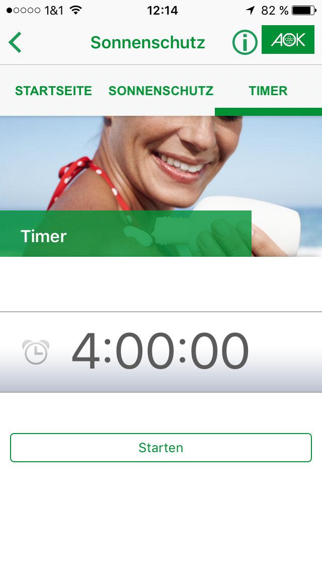 Eincrem-Alarm